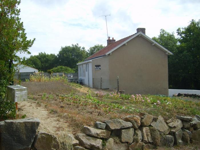 Rénovation, extension d'une maison et construction d'un garage ( projet en cours ) : Avant