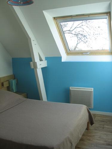 Transformation d'une partie du vélo en logements saisonniers : Petite chambre