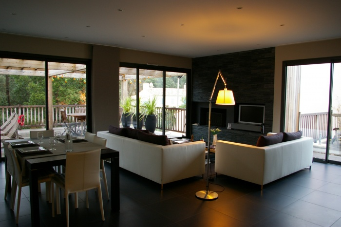 Villa bois
