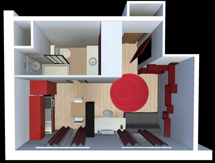 Aménagement intérieur d'un studio : appart_04