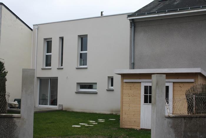 Projet d'une maison d'habitation