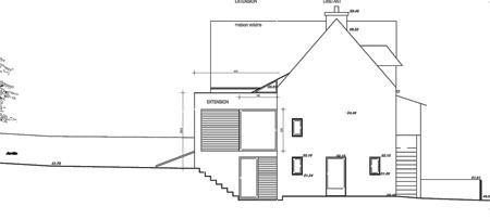 Rénovation et Extension d'une maison dans le Finistère : 04_Rénovation et Extension Maison Finistère