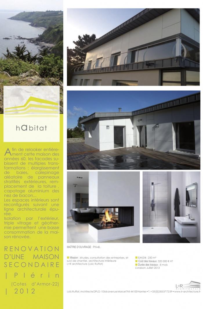 Renovation d'une maison