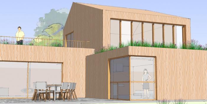 Wood House : wood house B