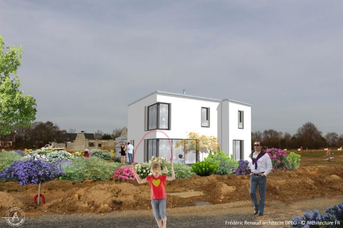 Construction d'une maison contemporaine : image_projet_mini_81286