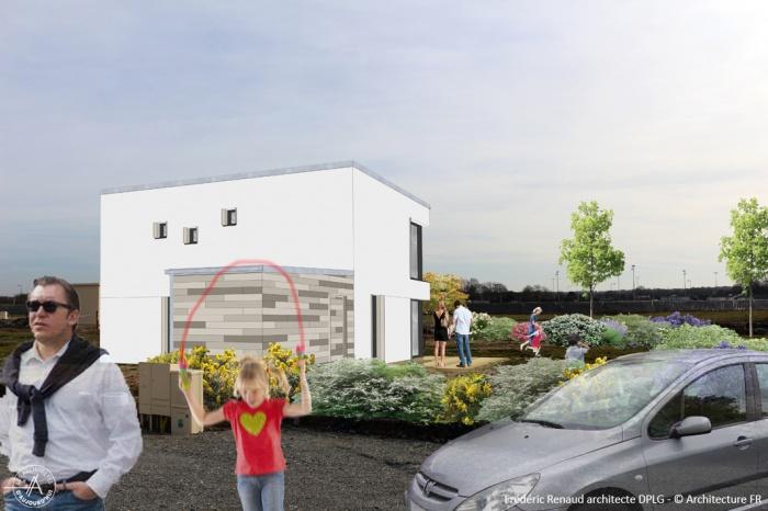 Construction d'une maison contemporaine : Projet