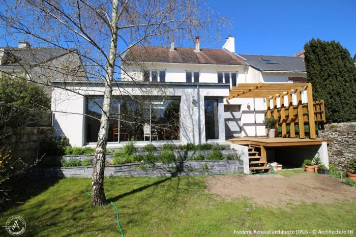 Extension d'une maison nantaise