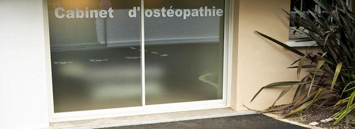 Cabinet d'Ostéopathie : Extérieur