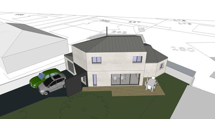 Maison D : 3D